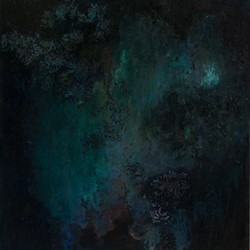 Angela Stewart, Sapience 10, oil and acrylic on canvas, 121 x 107.5cm