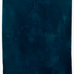 Penny Coss, Untitled Blue, 2018, acrylic on canvas, 160 x 150cm