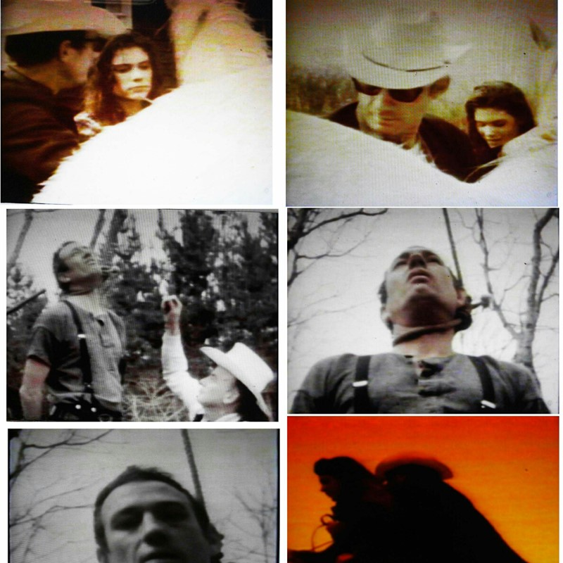 Tim Burns, The American Dream / Nightmare, digital video from 16mm and Super 8 film, 108min, ed.15