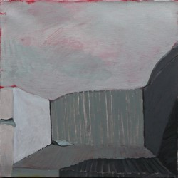 Tim Burns, Early Quarry (Pit 7), acrylic on canvas, 90 x 60cm.jpg