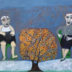 Lynnette Voevodin, The Family Tree #2, 2018, oil on canvas, 66 x 106cm.jpg