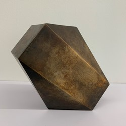 Jon Tarry, This Way One, 2019, bronze, 17 x 19 x 12cm