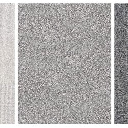 Eveline Kotai, Writing on Air - Mantra Triptych, 2011, permanent marker, nylon thread on canvas, 120 x 280cm