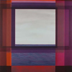 Jeremy Kirwan-Ward, View with a room 6 2017, acrylic on canvas, 183 x 155cm