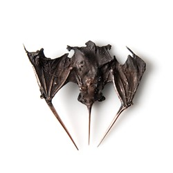 Sarah Elson, Feeling Batty, 2016, repurposed bronze, 12 x 9 x 4cm