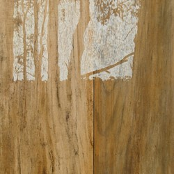 Tony Windberg, Harvest – Gold (panel B, detail), 2012, charcoal, marri resin, sealer on MDF, 50 x 160 x 5cm (each, 2 panels)