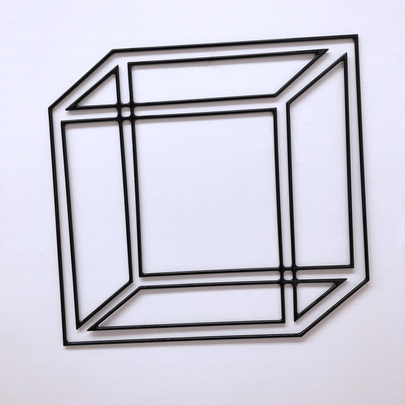 Impossible Shadow #26, 2020, powder coated steel, 50 x 52cm