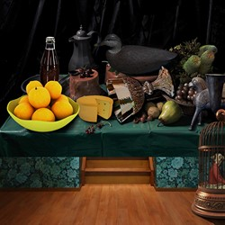 Connie Petrillo. Still Life #2, 2014, C-type print on archival rag paper, 102 x 136cm, ed. 5