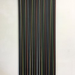 Trevor Richards, C4 (Together Apart), 2020, acrylic on canvas, 183 x 84cm
