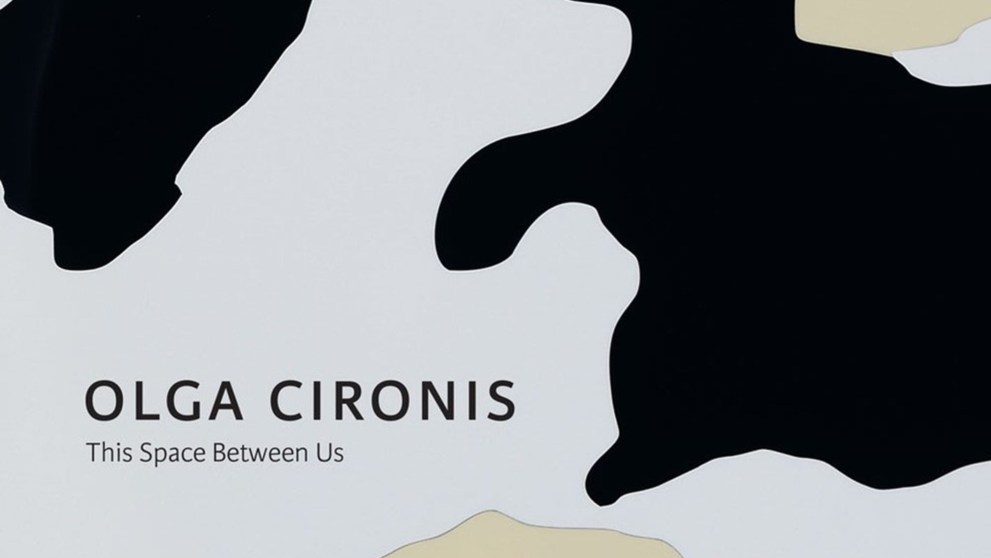 Olga Cironis, This Space Between Us; cover of monograph 2021